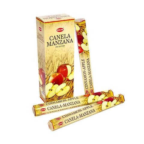 Палочки ароматические благовония HEM Корица Яблоко Cinnamon Apple, 20 шт
