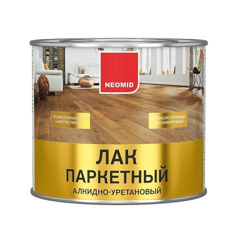 Neomid лак паркетный алкидно-уретановый