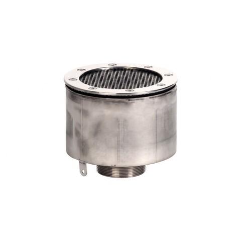 Водозабор с сетчатой крышкой д.165x100 (пленка) G2,5