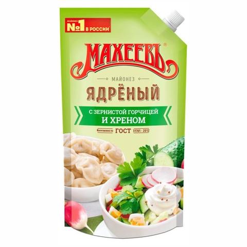 Майонез МАХЕЕВЪ Ядреный 380 г ДП ДЗ РОССИЯ