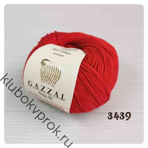 GAZZAL BABY COTTON 3439, Красный