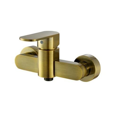 Смеситель KAISER Sonat 34077-1 бронза для душа