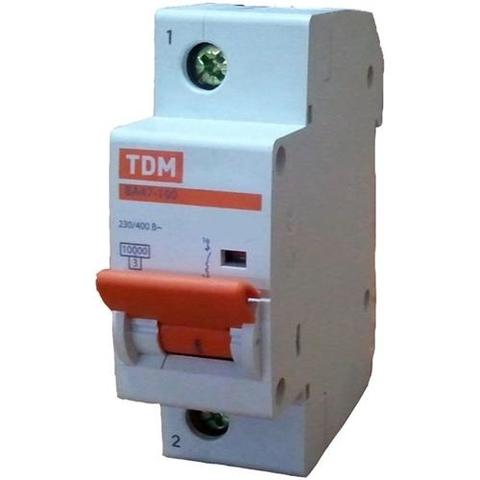 Авт. выкл. ВА47-100 1Р 20А 10кА  х-ка С TDM