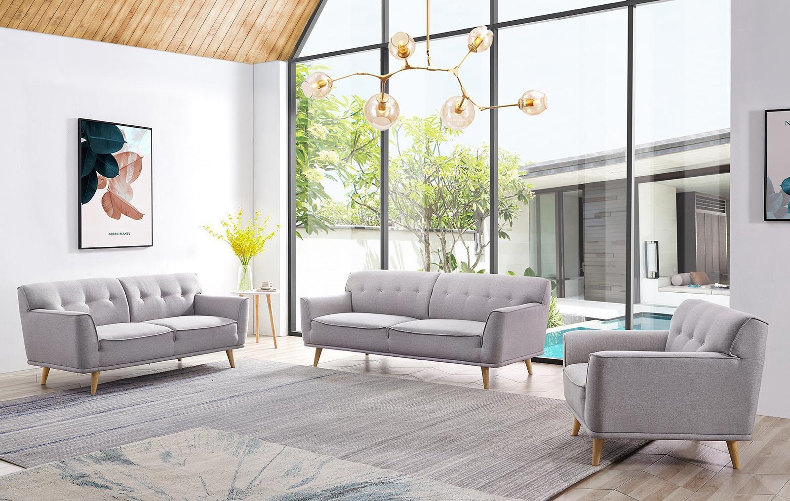 Набор мягкой мебели Florena 5281 BEIGE(GRAY)