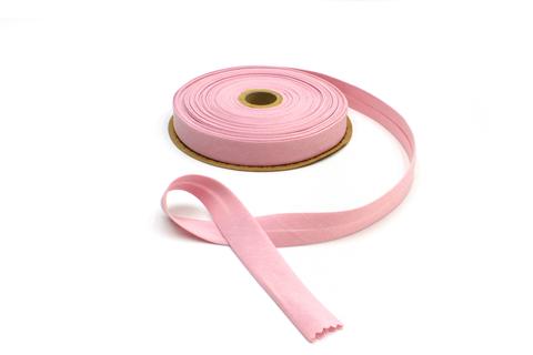 Бейка косая х/б,20 мм, розовый
