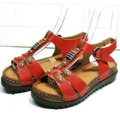 Модные босоножки сандали на толстой подошве Rifellini Rovigo 375-1161 Rad.