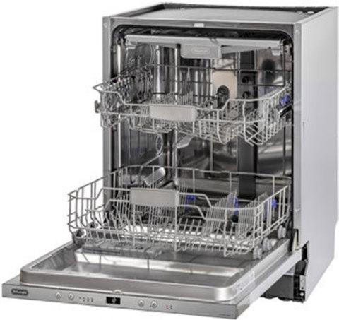Посудомоечная машина шириной 60 см DeLonghi DDW06F Granate platinum