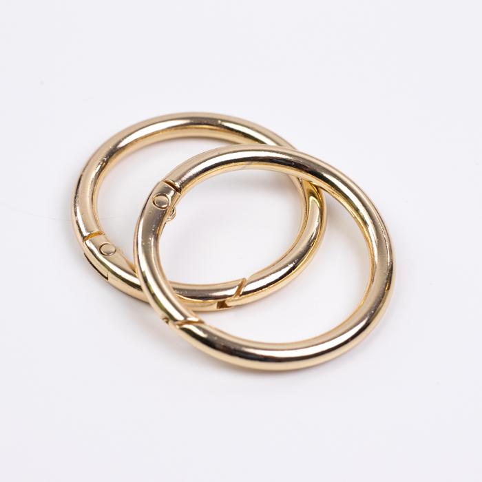 """Цвет """"Золото"""" Карабин-кольцо узкое 31мм  """"Золото"""" IMG_8230.jpg"""