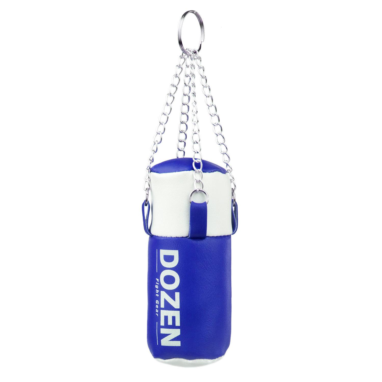 Брелок мини-мешок Dozen Light сине-белый главный вид