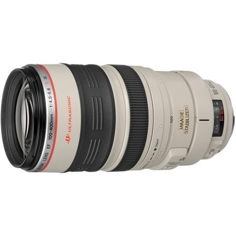 Объектив Canon EF 100-400mm f/4.5-5.6L IS USM White для Canon