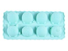 """6549 FISSMAN Форма для льда и шоколада """"Куглые зверята"""" 22x10,5x2,8 см"""