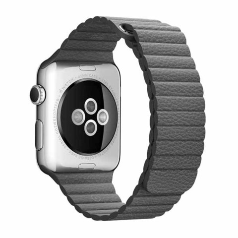 Ремешок Apple Watch 38 mm - Кожаный (PU)