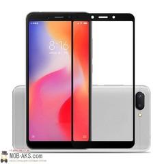 Защитное стекло 2.5D Xiaomi Redmi 6/6A (Черное)