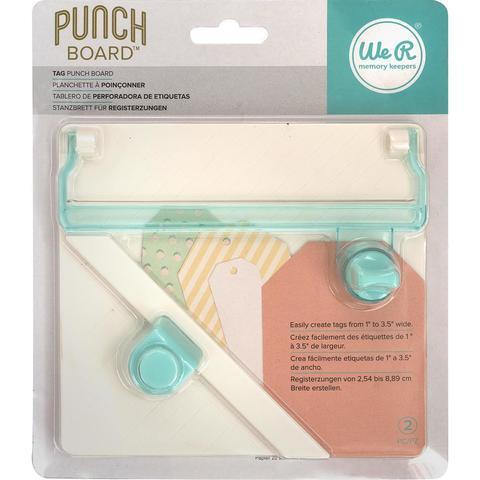 Доска для изготовления тегов We R Memory Keepers Tag Punch Board