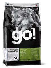 Корм для щенков и взрослых собак, GO! SENSITIVITY + SHINE LID Turkey Dog Recipe, беззерновой, с индейкой для чувствительного пищеварения