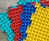 Массажный коврик Шипы мягкие модульный коврик-пазл