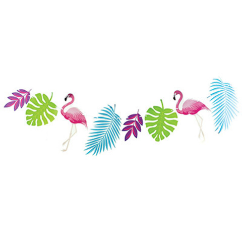 Гирлянда Фламинго 300см/G