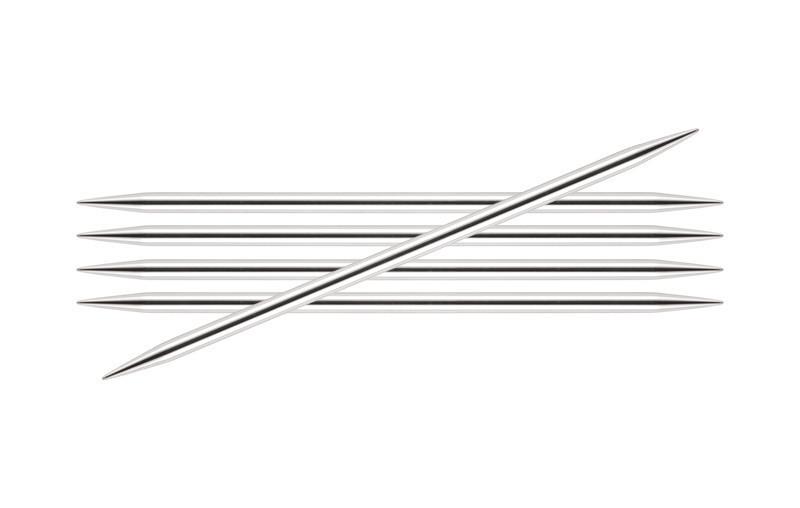 Спицы KnitPro Nova Metal чулочные 3,25 мм/20 см 10124
