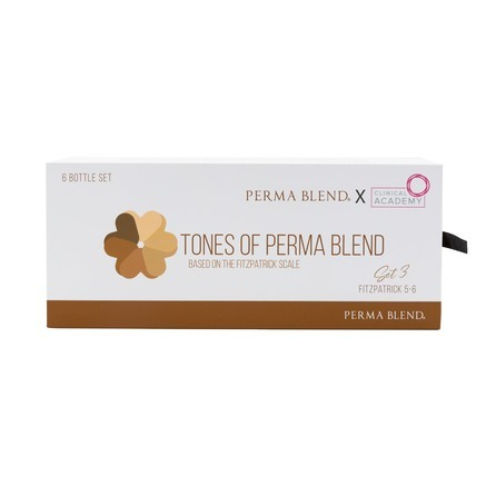 "Сет для татуажа бровей ""TONES OF PERMA BLEND - FITZPATRICK 5-6 SET 3"""