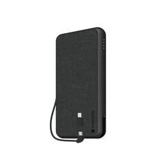 Внешний аккумулятор Mophie Powerstation Plus XL 10000, кабель 2в1 Micro USB и Lightning