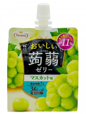 Желе питьевое Tarami Конняку со вкусом Муската 150 гр.