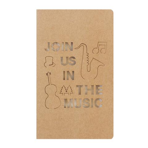 Открытка Music