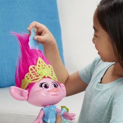 Тролли интерактивная кукла Розочка — Trolls Hug Time Poppy