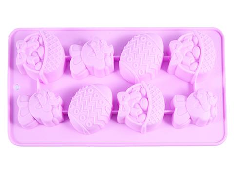 """6553 FISSMAN Форма для льда и шоколада """"Пасхальный кролик"""" 20,8x10,8x1,8 см,  купить"""