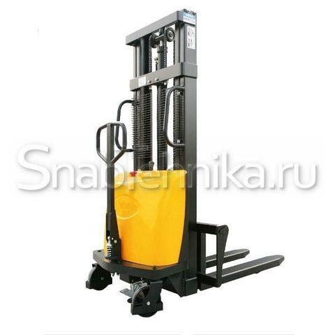 Штабелер гидравлический с электроподъемом DYC 1516