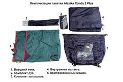 Купить недорого туристическую палатку Alexika Rondo 2-х местная со скидкой.