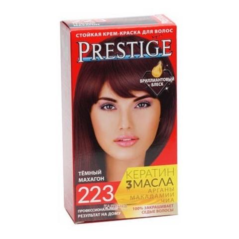 Краска для волос Prestige 223 - Темный махагон, 50/50 мл.
