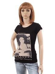 K77-1 футболка женская черная