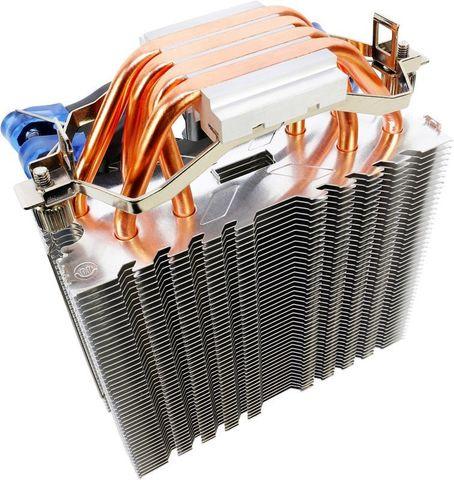 Устройство охлаждения(кулер) Aerocool Verkho 4 Soc-FM2+/AM2+/AM3+/AM4/1150/1151/1155/2011 4-pin 15-27dB Al+Cu 140W 678gr Ret