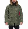 Куртка Аляска N-3B VF 59 (Slim Fit) (оливковая -S.green)