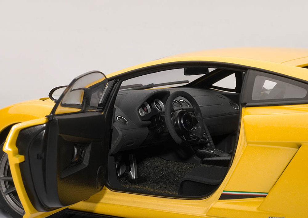 Коллекционная модель Lamborghini Gallardo LP570-4 Superleggera 2010 Metallic Yellow