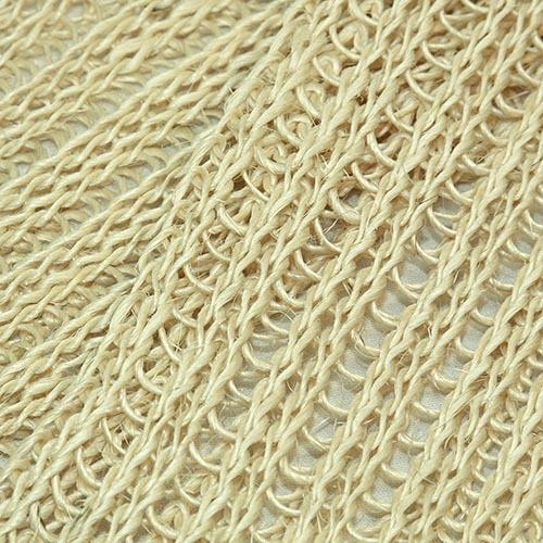 Длинная мочалка из сизаля мелкой вязки