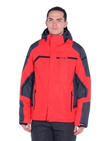 Горнолыжная мужская куртка BATEBEILE красного цвета.
