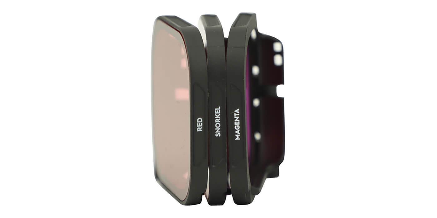 Набор фильтров PolarPro AQUA на бокс HERO8 Black