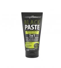 Black Paste Черная паста для умывания 3 в 1 гель, скраб, маска 165мл