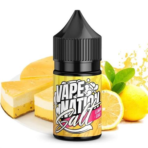 Lemon Cake by Vape Nation SALT 30мл