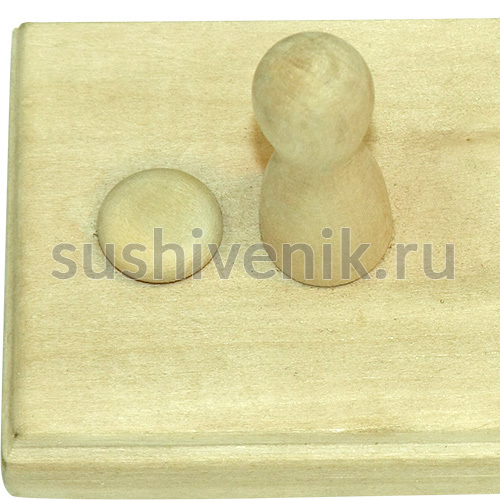Вешалка 3-рожковая (липа)