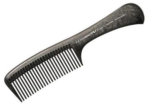 Расчёска карбоновая с ручкой Hercules