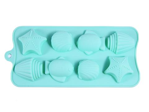 """6550 FISSMAN Форма для льда и шоколада """"Дары моря"""" 18x10x2 см,  купить"""
