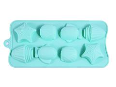 """6550 FISSMAN Форма для льда и шоколада """"Дары моря"""" 18x10x2 см"""