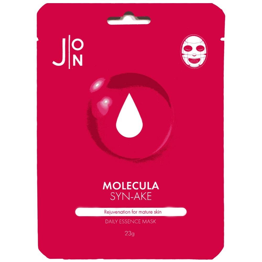 Тканевые Маска тканевая для лица ЗМЕИНЫЙ ПЕПТИД J:ON Molecula Syn-Ake Daily Essence Mask 1шт * 23 мл 466450c6f5e4acc3ba41b62f132a3ff6.jpg