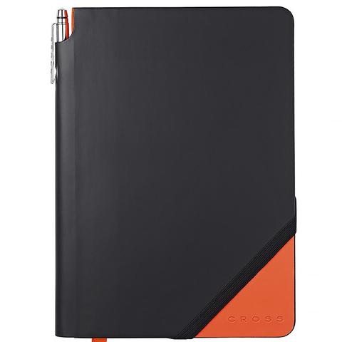 Записная книжка Cross Jot Zone, большая, 160 стр. в линейку, ручка в комплекте