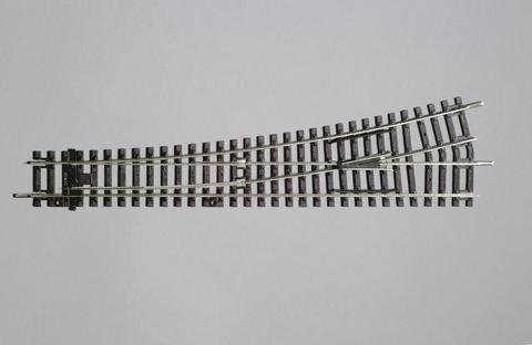 WL: Прямая стрелка - Левая 15°, A-Gleis