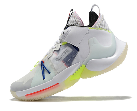 Jordan Why Not Zer0.2 SE PF 'White/Yellow'