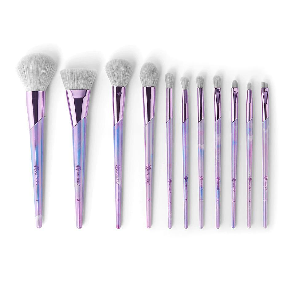 BH Cosmetics Lavender Luxe 11 Piece Brush Set