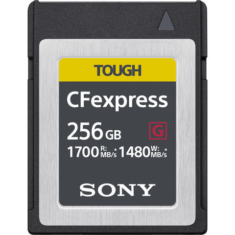 Sony 256ГБ CFexpress Type B TOUGH карта памяти